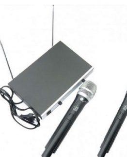 میکروفون دستی ۲ کانال AQTA مدل 1260HH