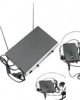 میکروفون یقه ای ۲ کانال AQTA مدل 1260CC