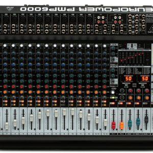 پاور میکسر BEHRINGER مدل PMP6000
